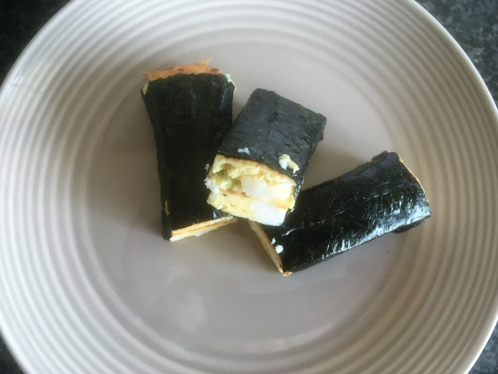 crab and nori